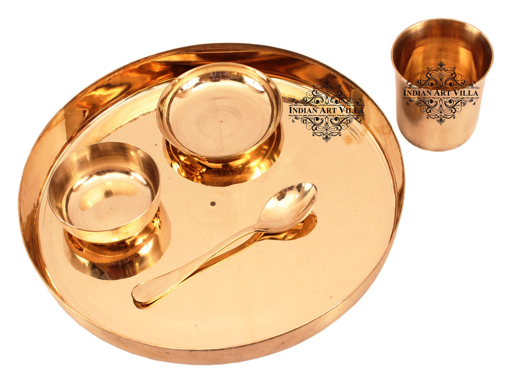 Bronze Best Quality Handmade 5 Piece Dinner Set Bronze Dinner Sets IAV-KB-TW-103
