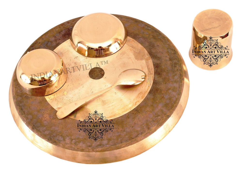 Bronze Designer 5 Piece Dinner Set Bronze Dinner Sets IAV-KB-TW-112