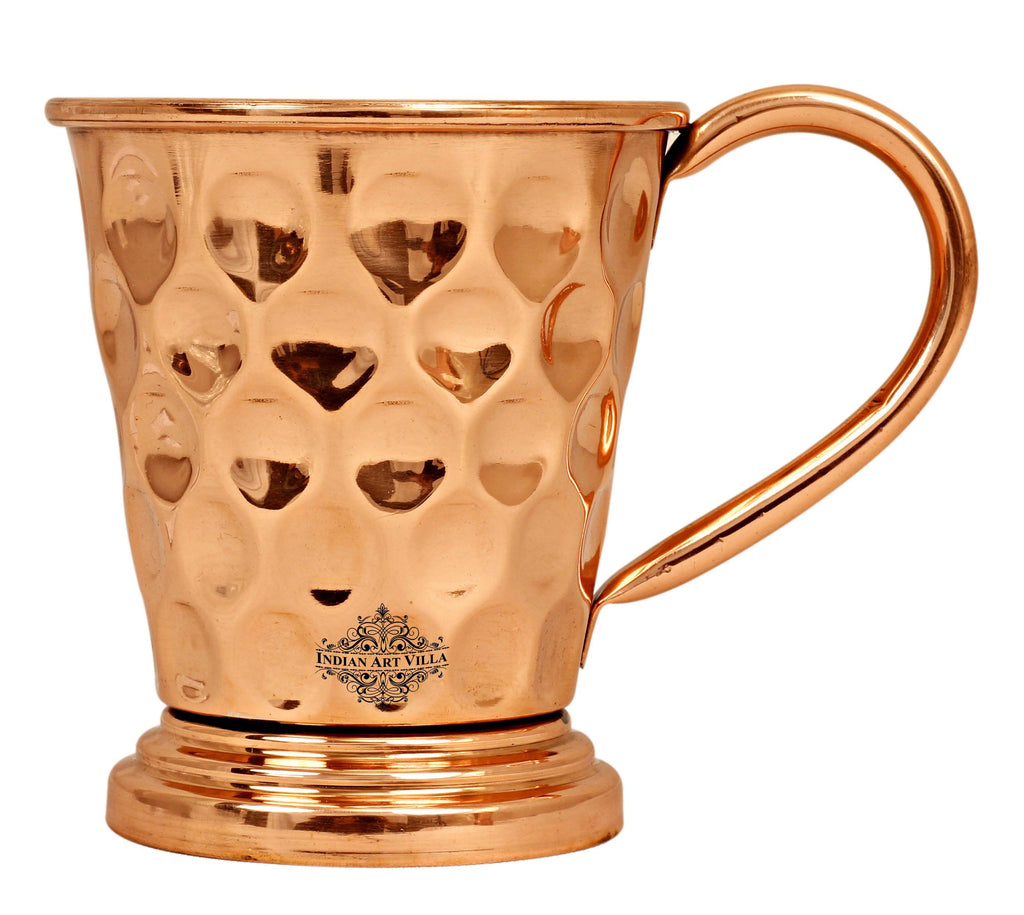 Copper Big Diamond Design Beer Muscow Mule Mug
