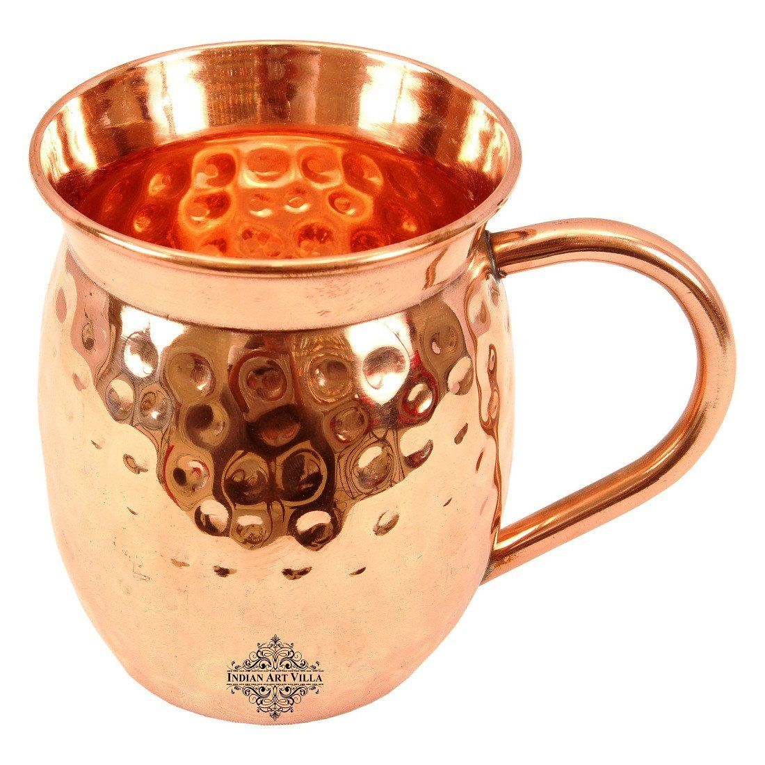 Copper Big Top Hammered Beer Mug