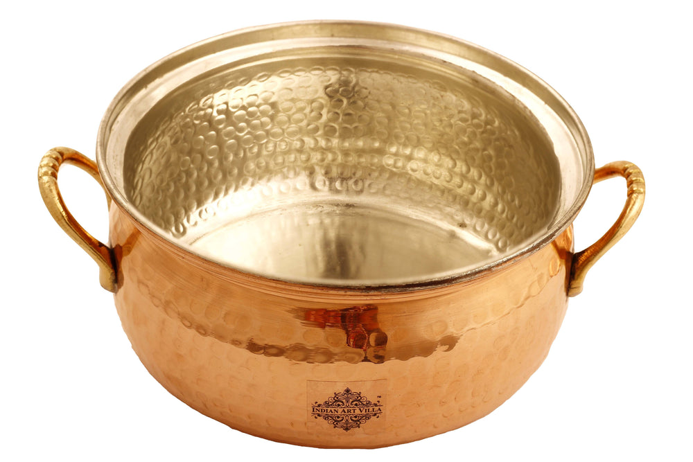 Copper Casserole with Tin Lining Casseroles IAV-CC-3-161