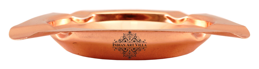 Copper Deep Ashtray with 4 Cigerate Holders