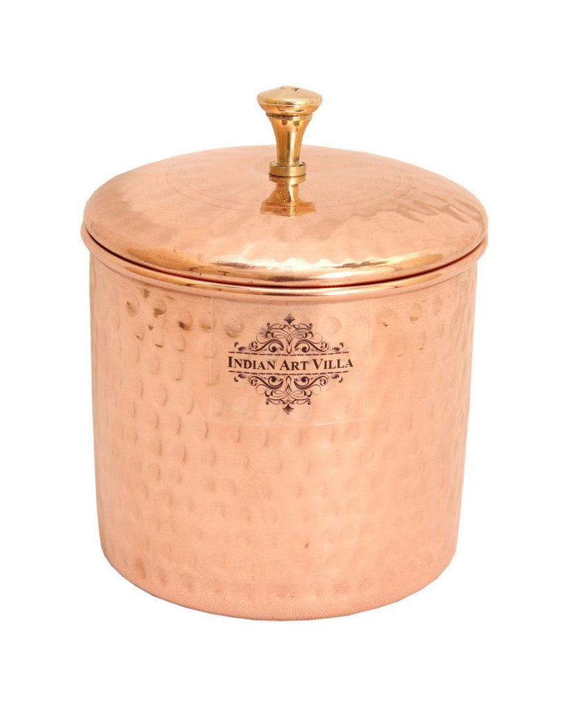 Copper Hammered Box, 700 ML, Set of