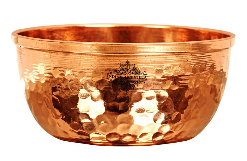 Copper Hammered Design mall Bowl 250 ML Bowls CC-3
