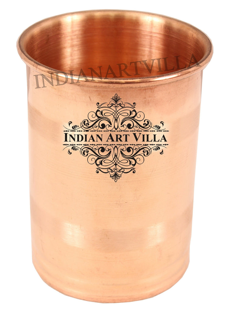 Copper Handmade Small Luxury Glass Tumbler 5 Oz