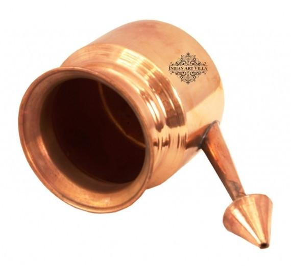 Copper Netipot Ramjhara 7 Oz Neti Pots Indian Art Villa