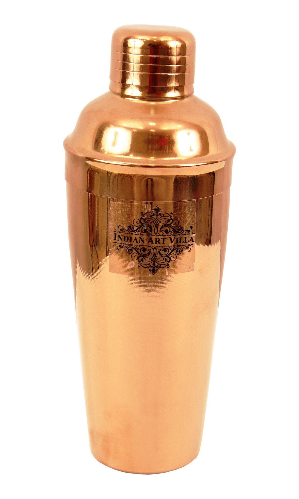 Copper Polish Steel Cocktail Wine Shaker 25 ML