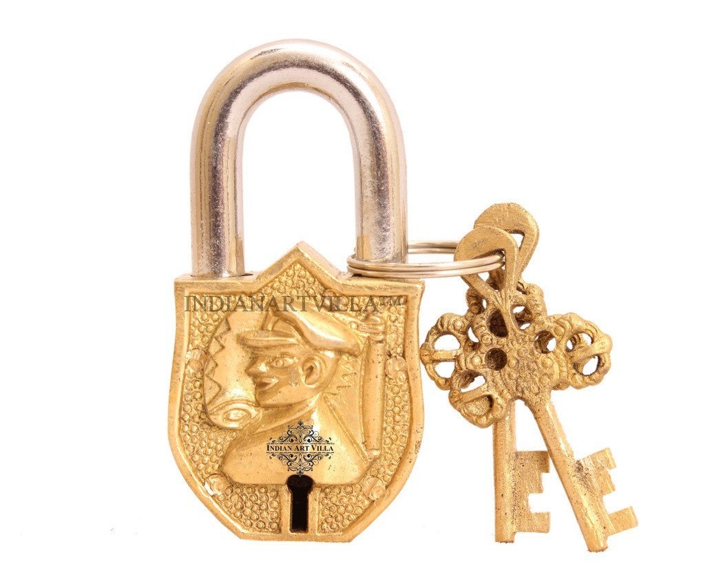 Handmade Vintage Marshal Lock for Home Temple Office
