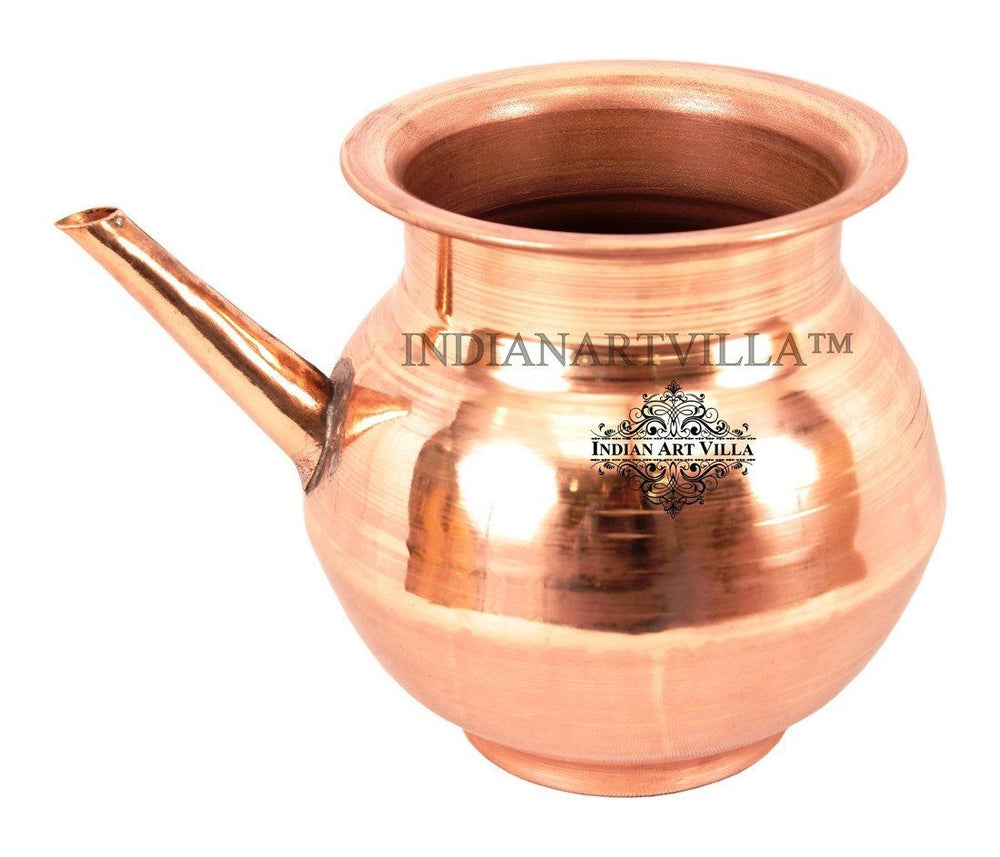 IndianArtVilla Best Quality Pure Copper Ramjhara / Karva