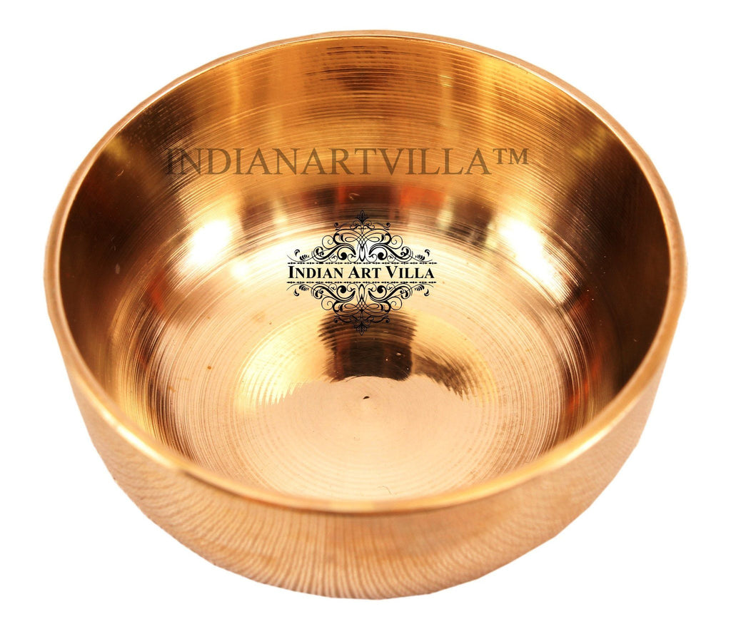 IndianArtVilla Bronze Kansa Chandan Bowl Katori Bowls Indian Art Villa