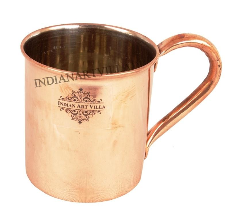 Moscow Mule Copper Nickle Beer Mug Cup 14 Oz