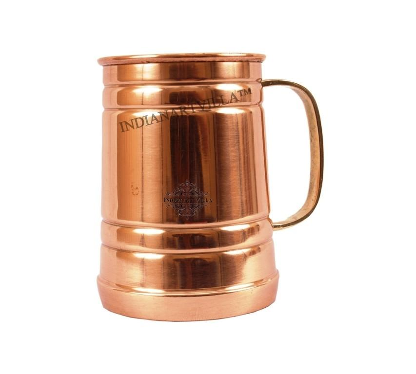 Moscow Mule Steel Copper Mug 15 Oz Beer Mugs Indian Art Villa