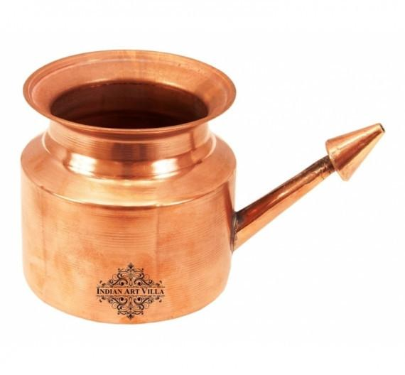 Netipot Pure Copper Ramjhara 11 Oz