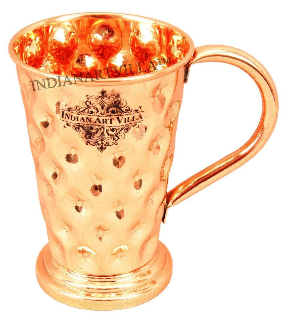 Pure Copper Big diamond Mug Moscow Mule Cup 15 Oz