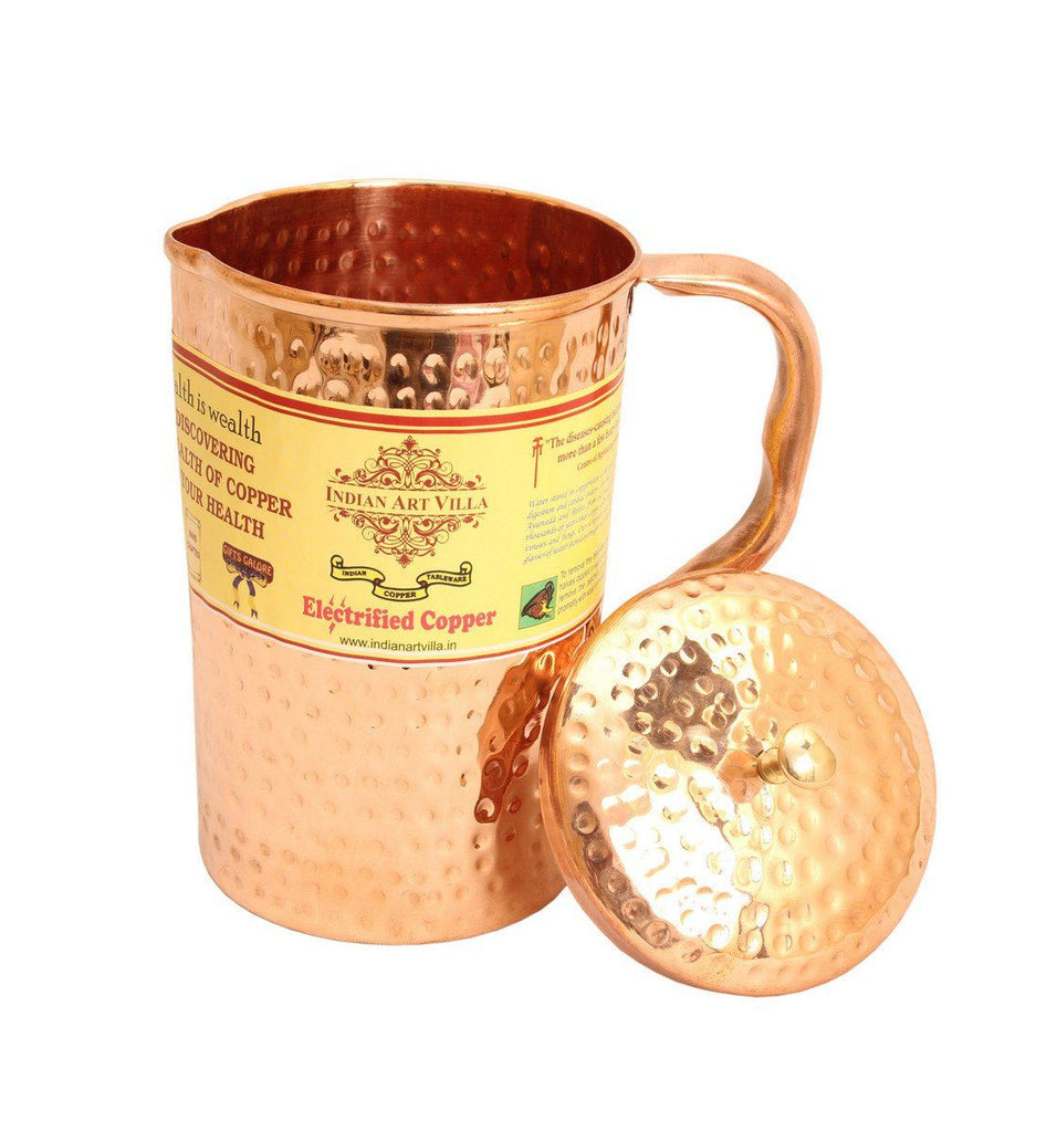 Copper Hammer Pitcher Jug
