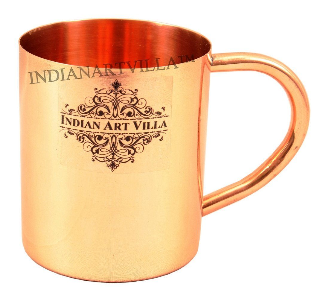 Pure Copper Plain Mug Moscow Mule Cup 11 Oz