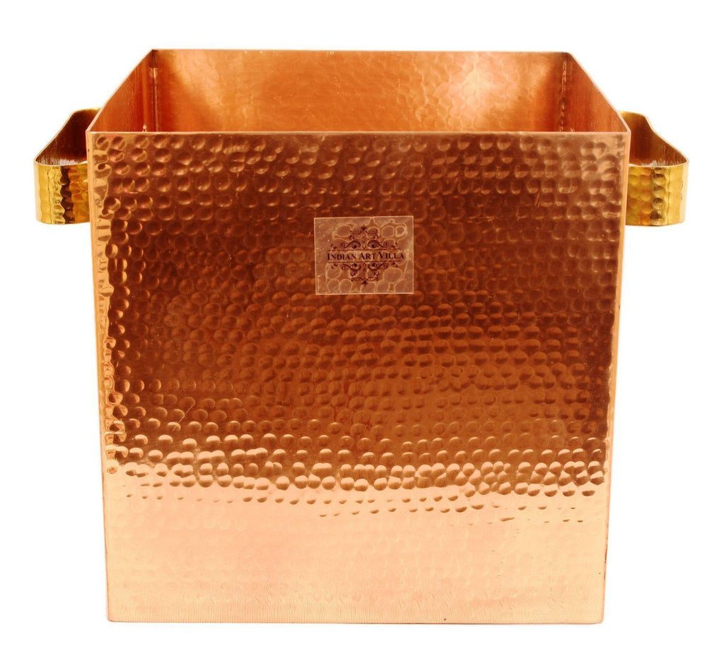 Pure Copper Wine Cooler, Ice Pot