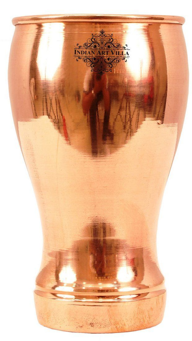 Pure Copper Wine Glass Goblet Tumbler Cup 16 Oz