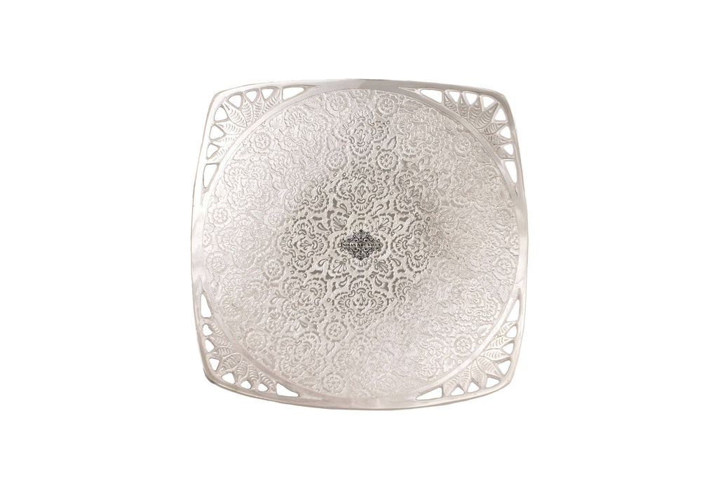 Silver Plated Designer Bowl Silver Plated Bowls IAV-SP-3-184-