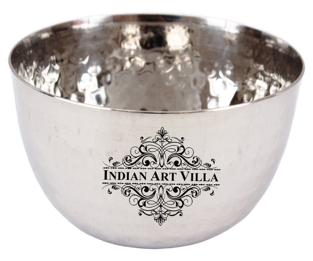 Stainless Steel Bowl 6 Oz - Serving Dal Curry Vegetable Dinnerware