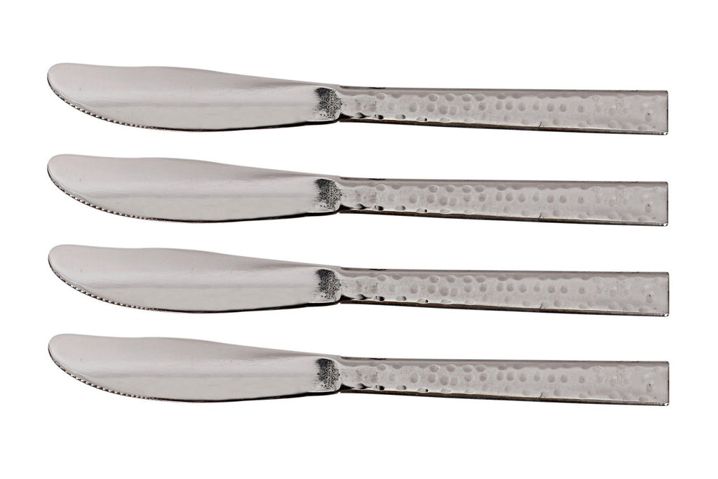 Stainless Steel Handmade Hammered Premium Quality Knife Cutlery Set