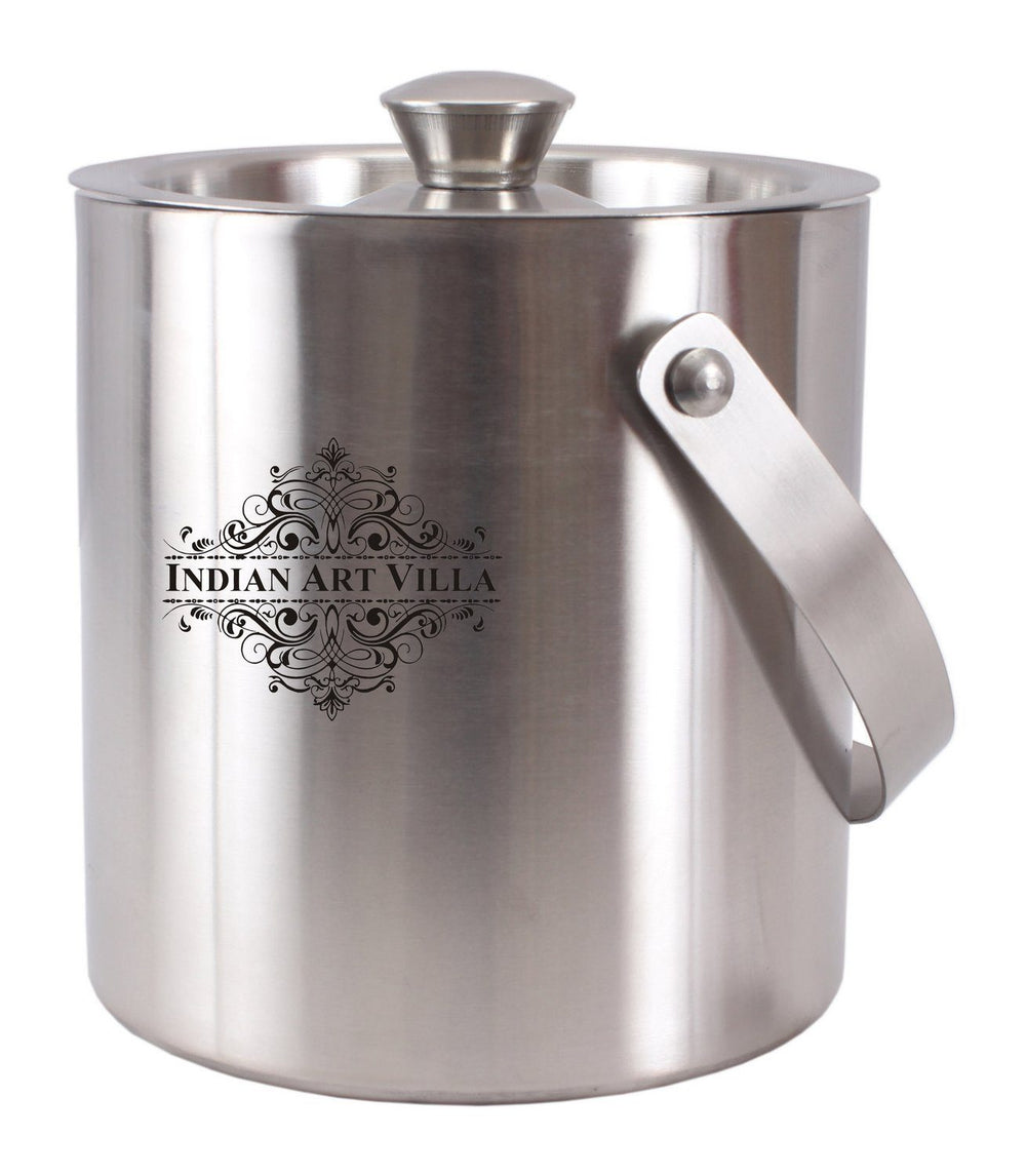 Stainless Steel Ice Bucket with Lid