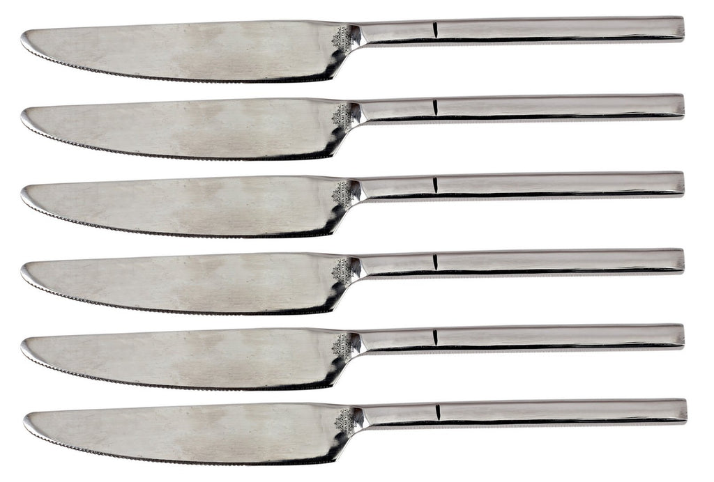 Stainless Steel New Flute Design Knife Cutlery Set - 8.5'' Inch, Knives SS-8 6 Pieces