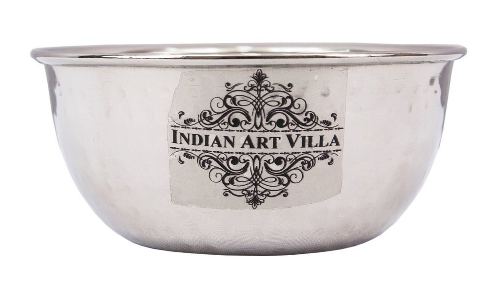 Stainless Steel Soup Bowl 11 Oz Steel Bowls Indian Art Villa