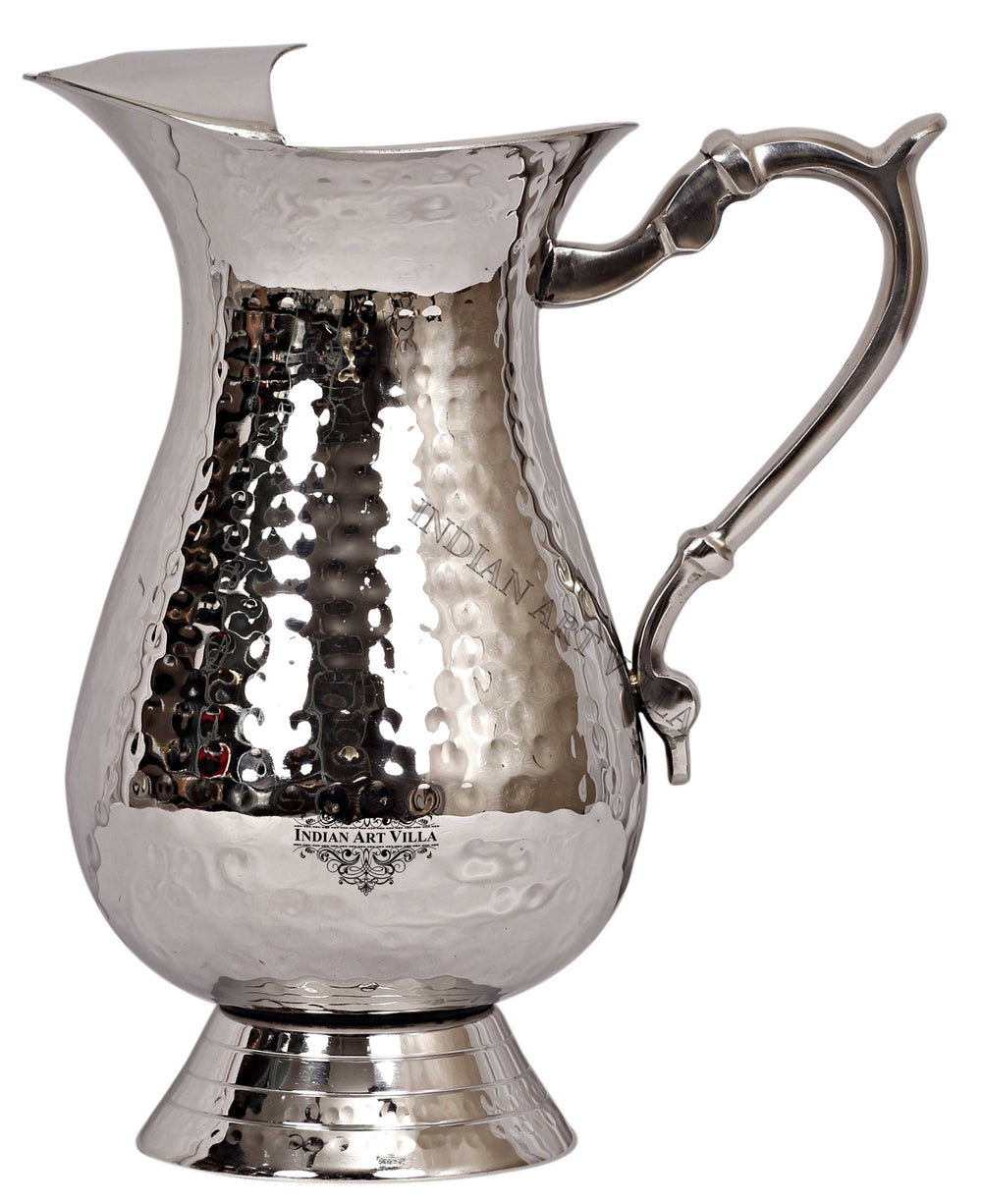 Steel Hammered Jug 50.72 Oz Steel Jugs SS-3