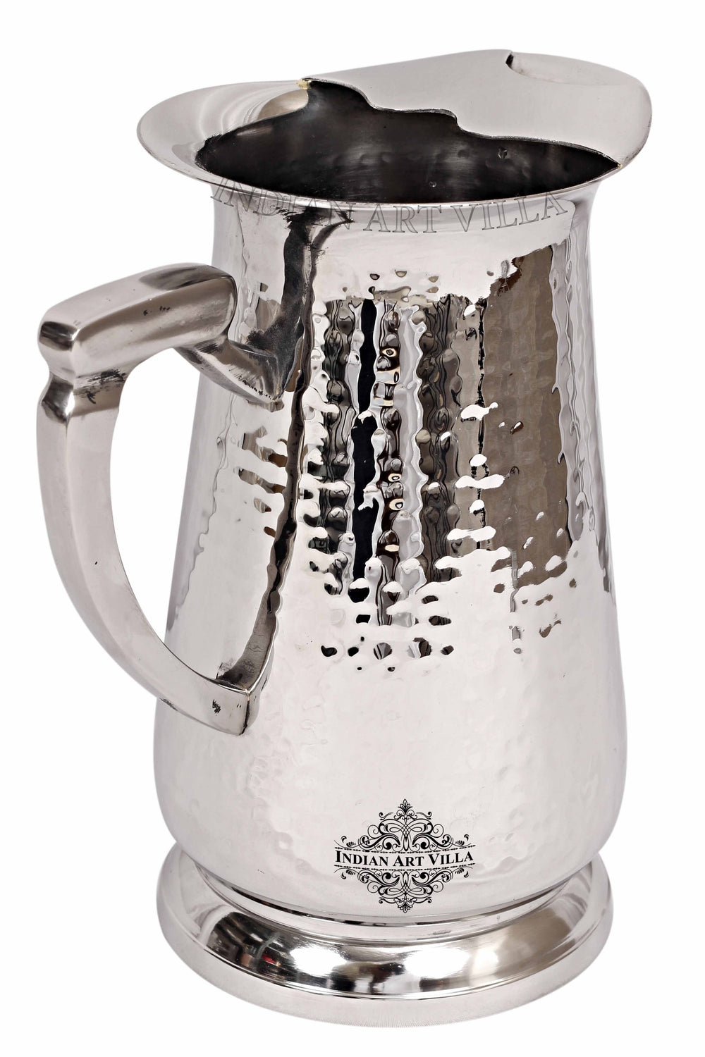 Steel Hammered Jug 54.10 Oz Steel Jugs SS-3