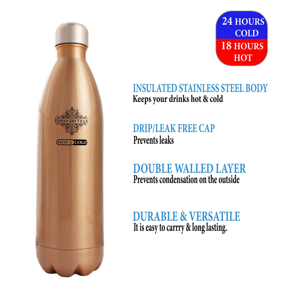 Steel Insulated Vaccum Bottle, 16 Oz | 25 Oz | 33 Oz Bottles SS-9