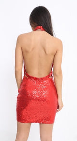 Showgirl Dress (Red)