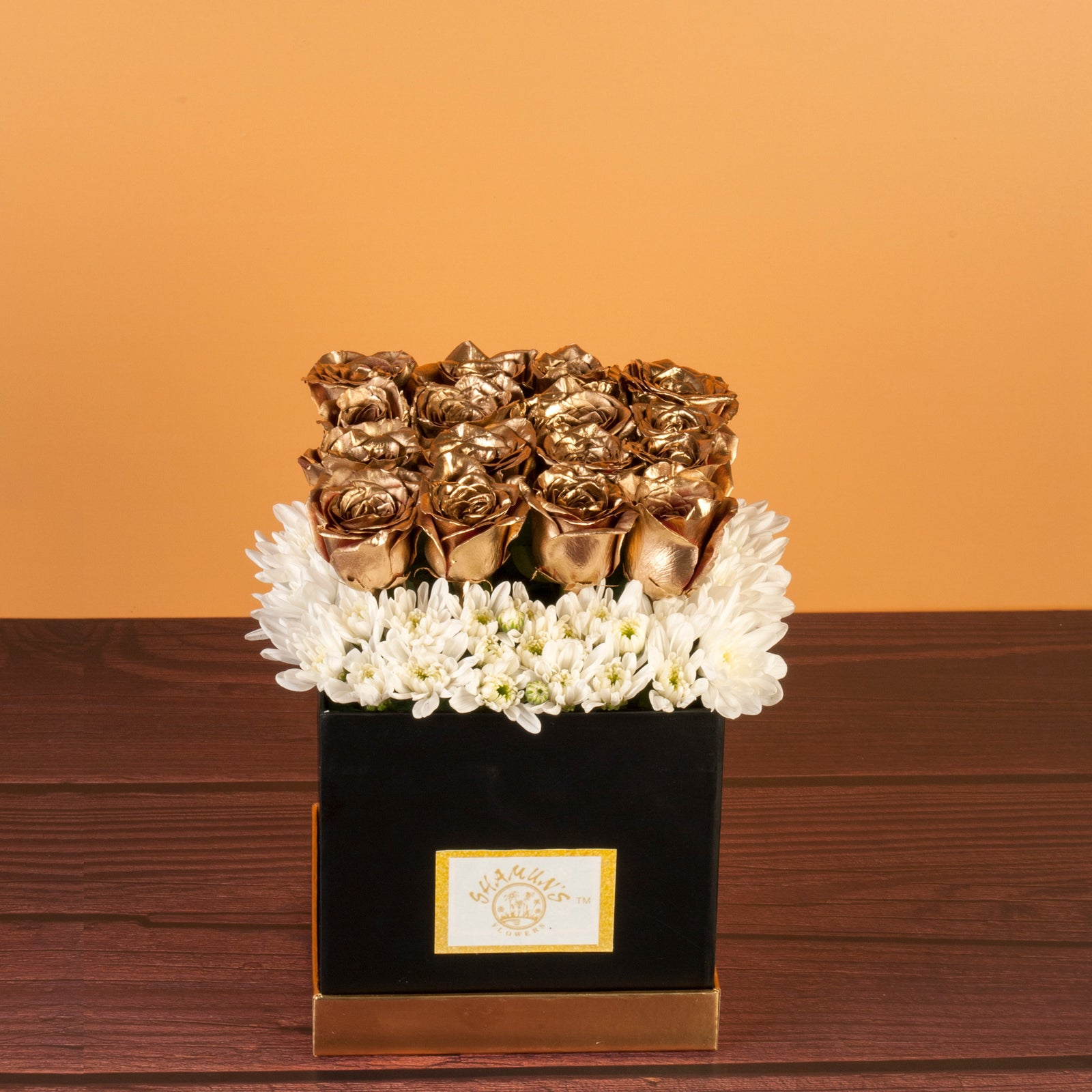Golden Roses Premium Flower Delivery in Pune