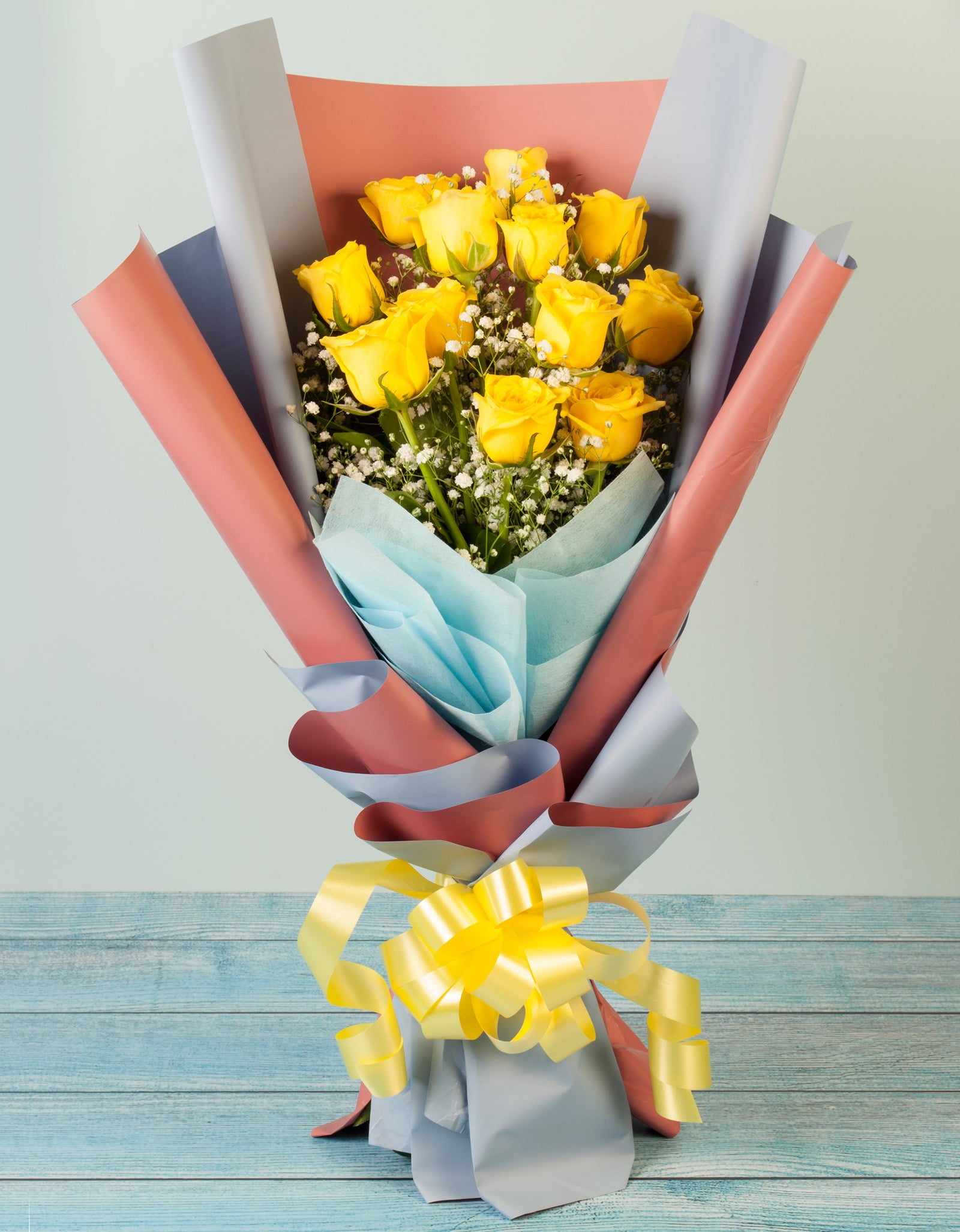 Yellow Rose Bouquet Delivery