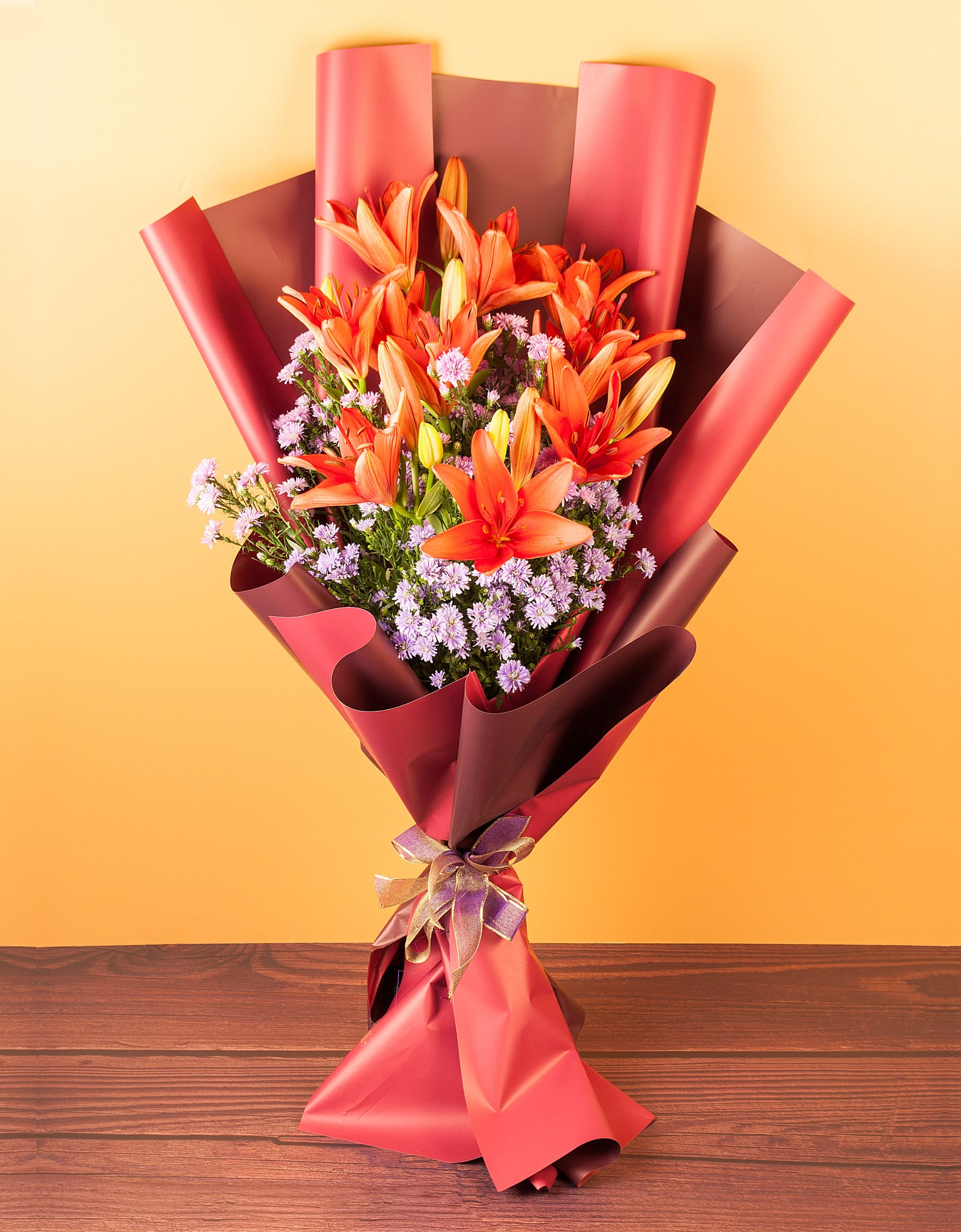 Lily Flowers Bouquet Online