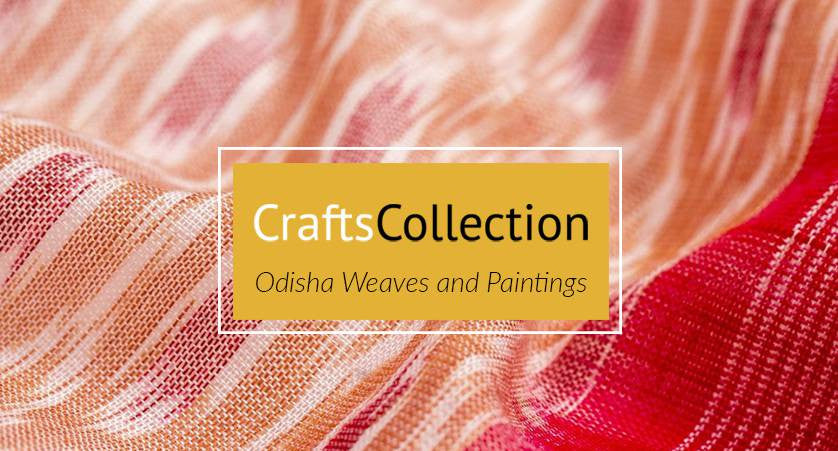 crafts collection sarees on jharonka