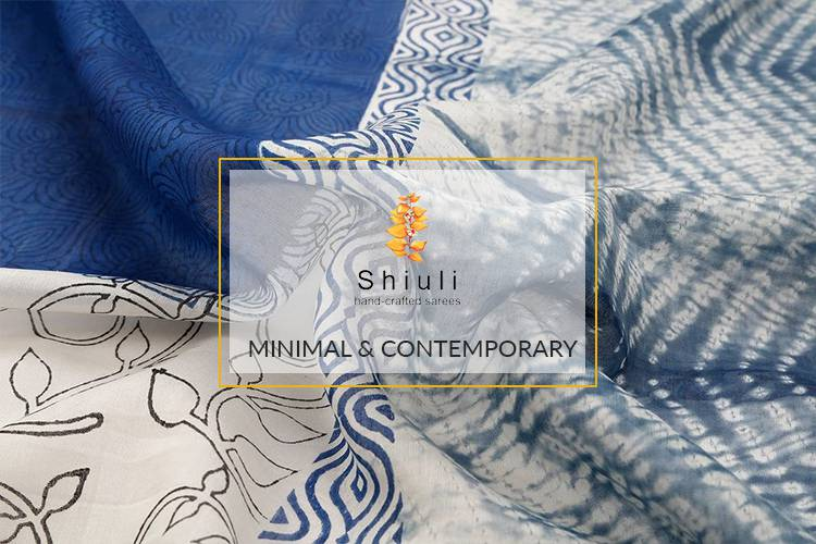 Shiuli Sarees on Jharonka