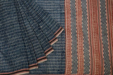 dark blue-saree-CBESAR0011