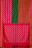 tri colour body-saree-PROSAR0135