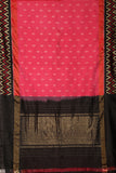 black & pink-saree-PROSAR0138