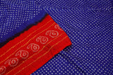 blue and red-saree-DSCSAR0029