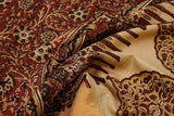 brown-saree-CBESAR0033