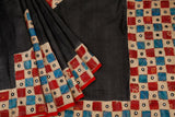 black-saree-PROSAR0039