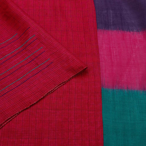 Tussar Mix And Match Multicolor Saree