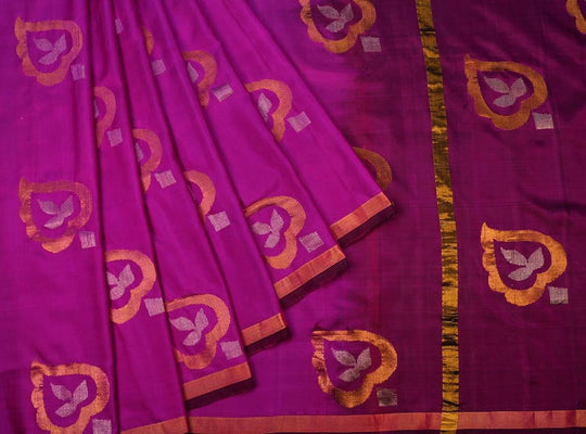 purple-saree-CBESAR0056