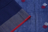 indigo blue-saree-SSASAR0057