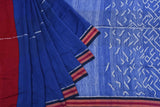 royal blue-saree-SSASAR0066
