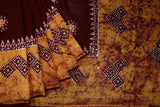brown-SAREE-FANSAR0090