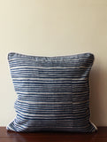 Hand Block Grey Cushion Cover (Set of 2)