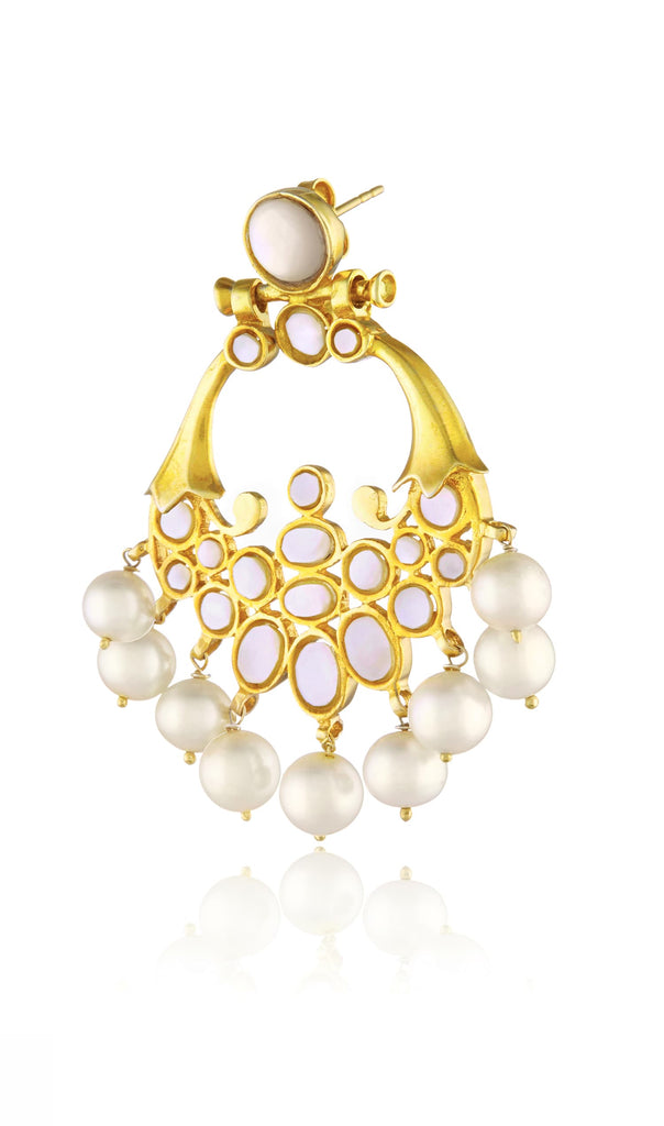 pearl and mother of pearl chand balis